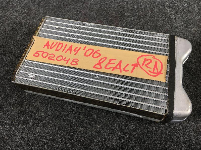 Радиатор отопителя Audi A4 8EALTWA4 8EALT 2006 502048 (б/у)