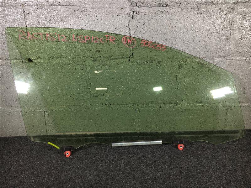 Стекло боковое Toyota Ractis NCP120 2012 переднее правое 502055 (б/у)