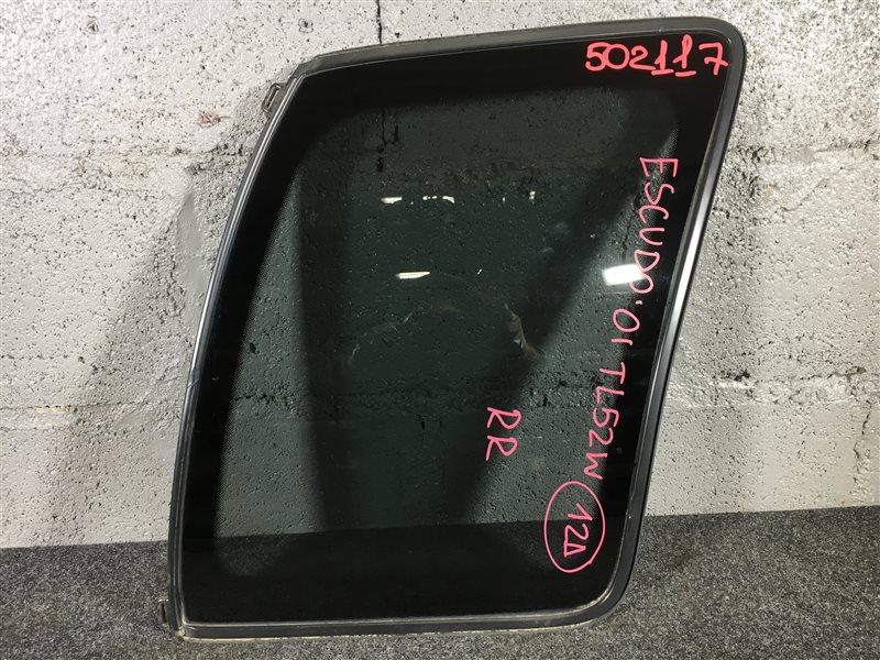 Стекло собачника Suzuki Escudo TL52W J20A 2001 заднее правое 502117 (б/у)