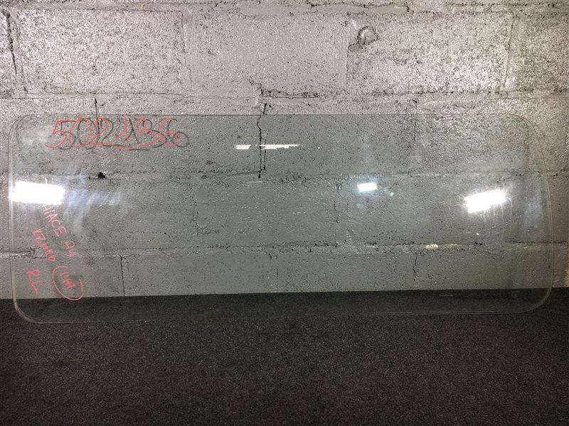 Стекло боковое Toyota Hiace KZH116 1994 заднее левое 502136 (б/у)