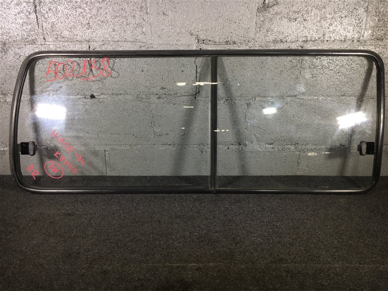 Стекло боковое Toyota Hiace KZH116 1994 заднее правое 502138 (б/у)