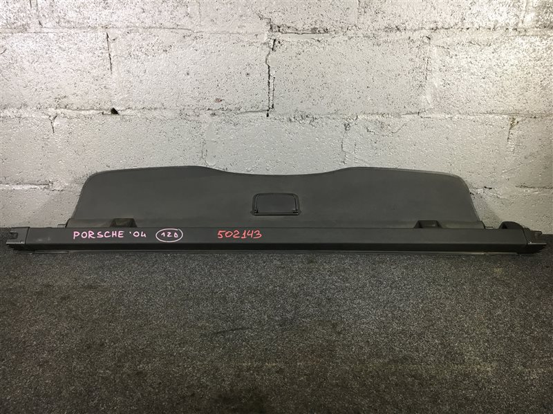 Шторка багажника Porsche Cayenne 955 M48 0081402781 2004 502143 (б/у)