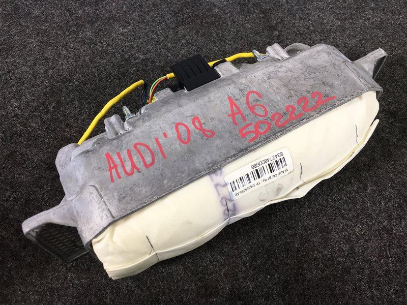 Подушка безопасности Audi A6 4F2 BDX 2008 левая 502222 Пассажирская. С зарядом. Без крышки. (б/у)