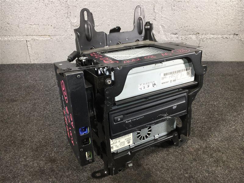 Блок управления навигацией Audi A6 4F2 BDX 2008 502267 Продается отдельно от ТВ тюнера, (б/у)