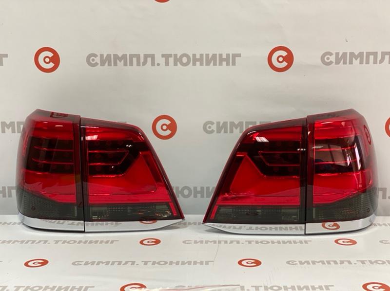 Задний фонарь Toyota Land Cruiser UZJ200 2UZ 2007 задний Альтернативные задние фонари в стиле 2016