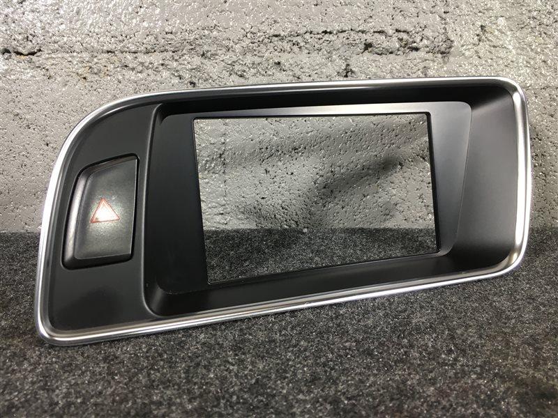 Консоль центральная Audi Q5 8RB CDN 2009 502313 С кнопкой включения аварийной (б/у)