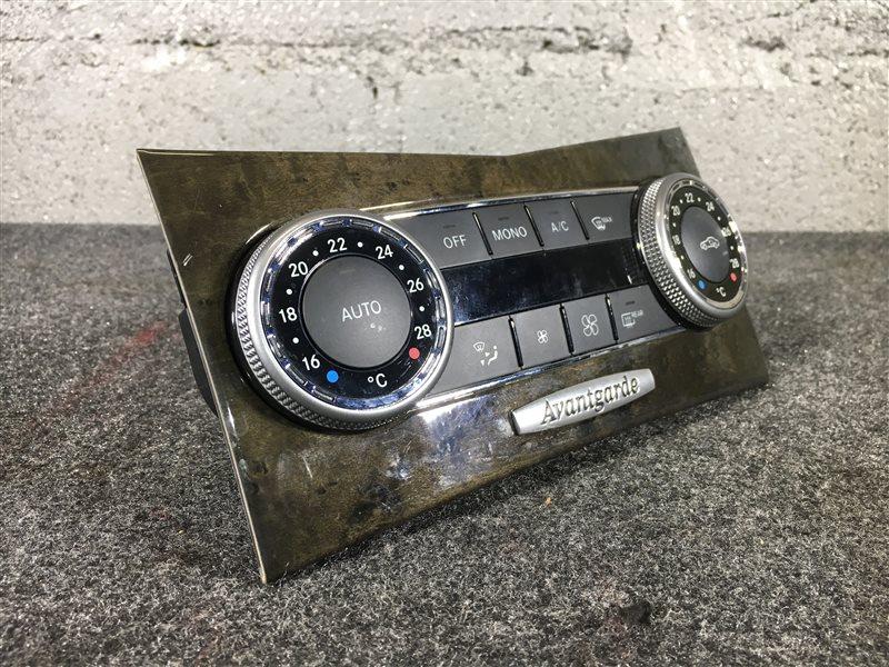 Блок управления климат-контролем Mercedes-Benz C-Class W204 M271DE18AL 2011 502314 (б/у)