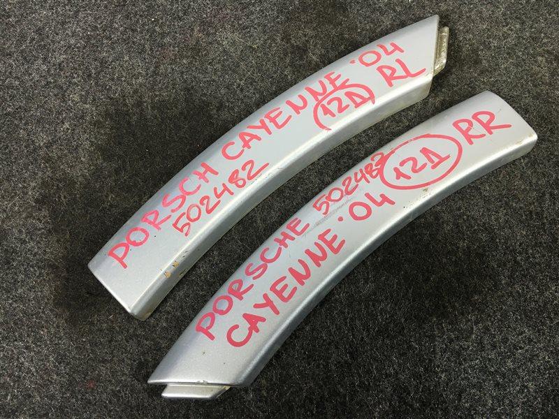 Накладка на крыло Porsche Cayenne 955 M48 0081402781 2004 задняя левая 502482 (б/у)