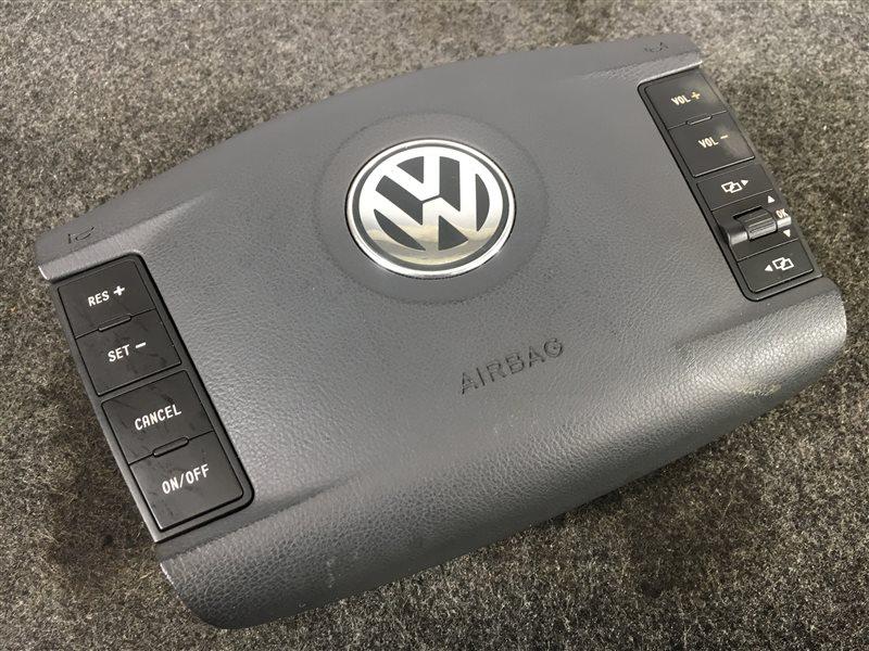 Подушка безопасности Volkswagen Touareg 7LA BMV 2006 правая 502499 В руль. (б/у)