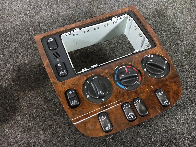 Блок управления климат-контролем Mercedes-Benz M-Class W163 112.942 1999 502552 Дефект (см. фото). (б/у)