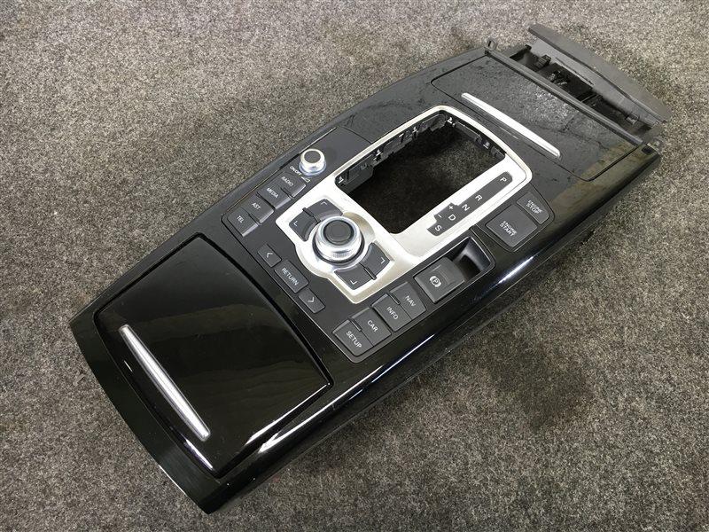 Консоль кпп Audi A6 4F2 BDX 2008 502557 (б/у)