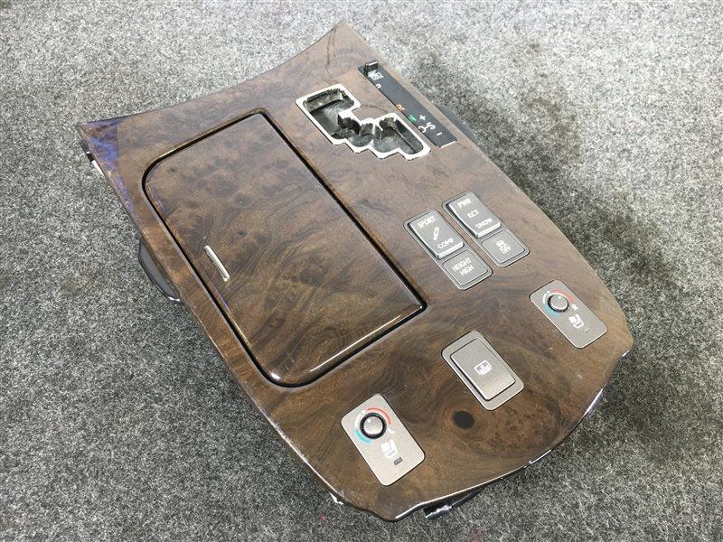 Консоль кпп Lexus Ls460 USF40 1UR 2008 502566 (б/у)