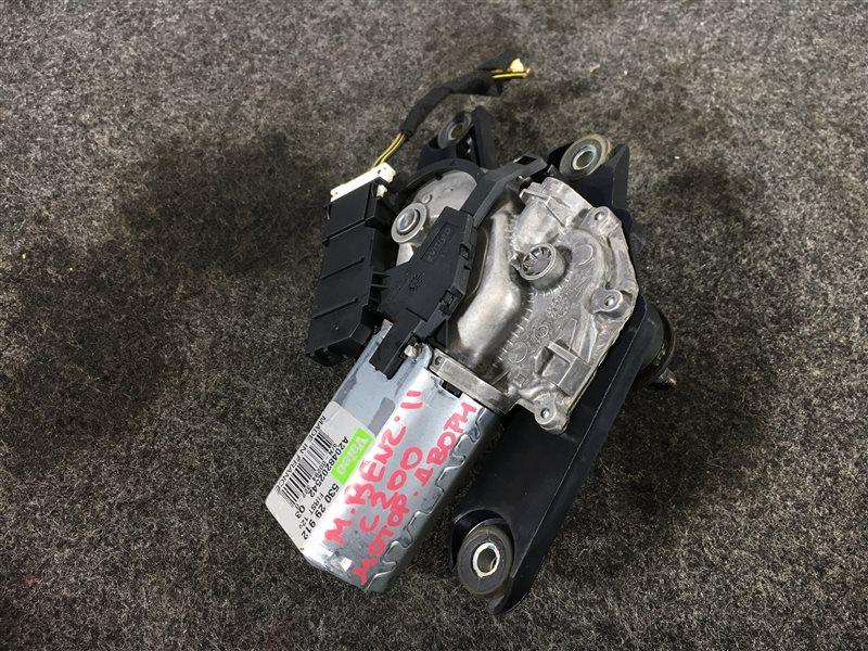 Мотор стеклоочистителя Mercedes-Benz C-Class S204 M271DE18AL 2011 задний 502576 (б/у)