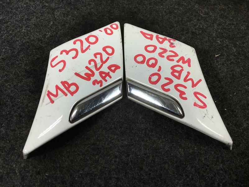 Накладка на крыло Mercedes-Benz S-Class W220 11294430665058 2000 задняя левая 502625 (б/у)