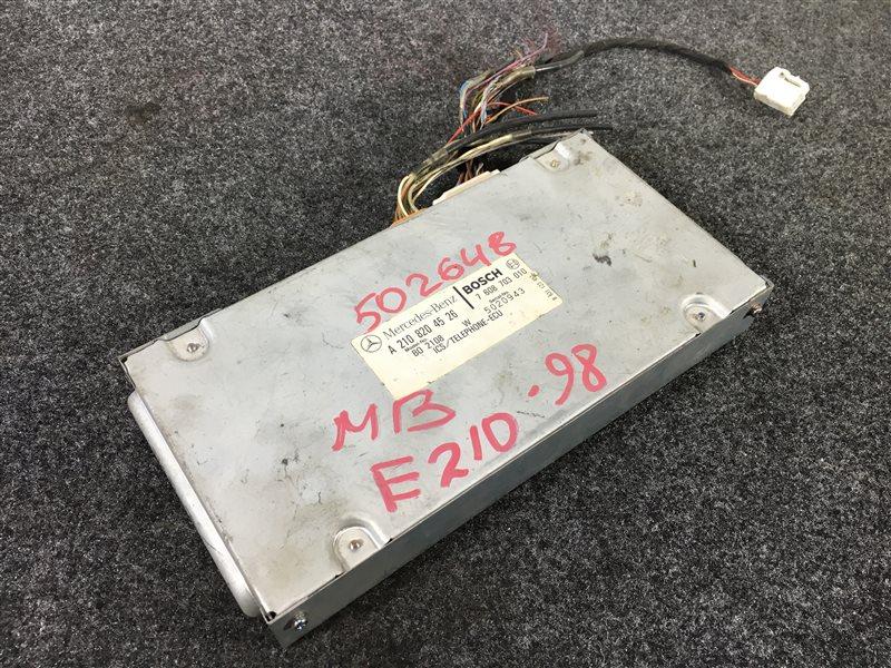 Блок электронный Mercedes-Benz E-Class W210 1998 502648 Блок управления телефоном. (б/у)