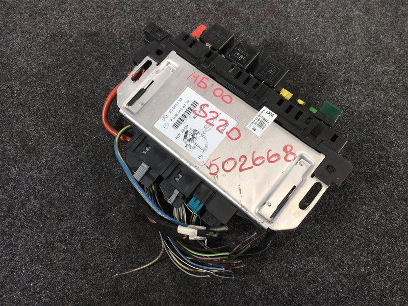 Блок предохранителей Mercedes-Benz S-Class W220 11294430665058 2000 502668 Блок управления, модуль (б/у)
