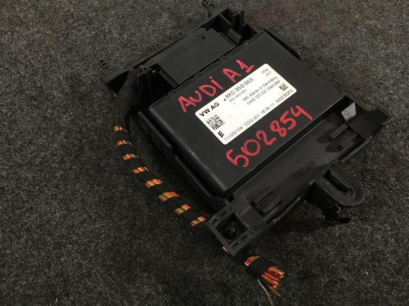 Блок электронный Audi A1 8XA CAXA 2011 502854 Стабилизатор напряжения (б/у)