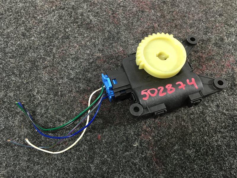 Мотор заслонки печки Audi A1 8XA CAXA 2011 502874 (б/у)