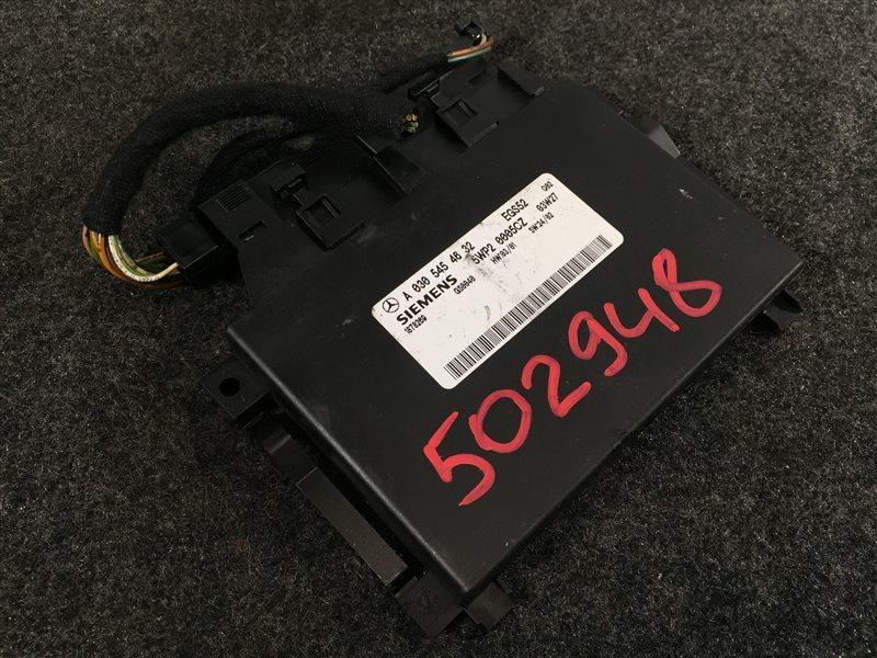 Блок управления акпп Mercedes-Benz M-Class W163 11297031611062 2004 502948 (б/у)