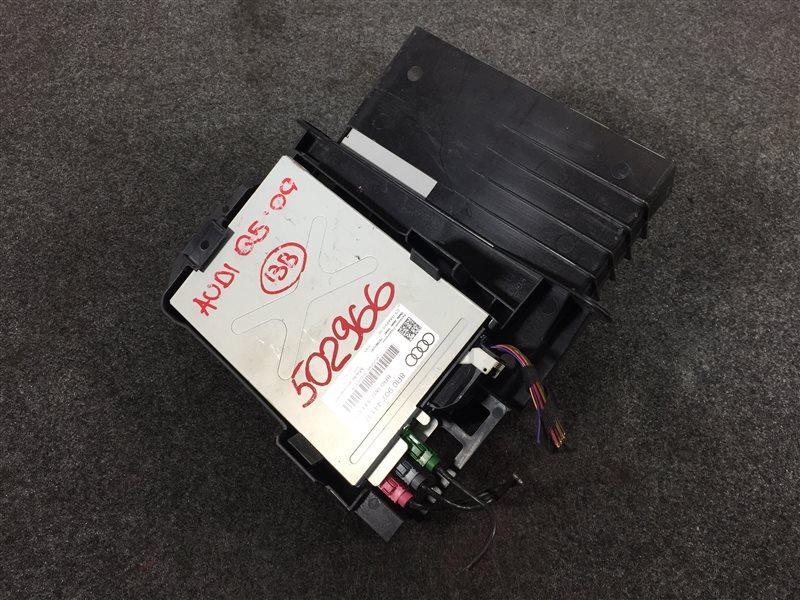 Блок управления магнитолой Audi Q5 8RB CDN 2009 502966 (б/у)