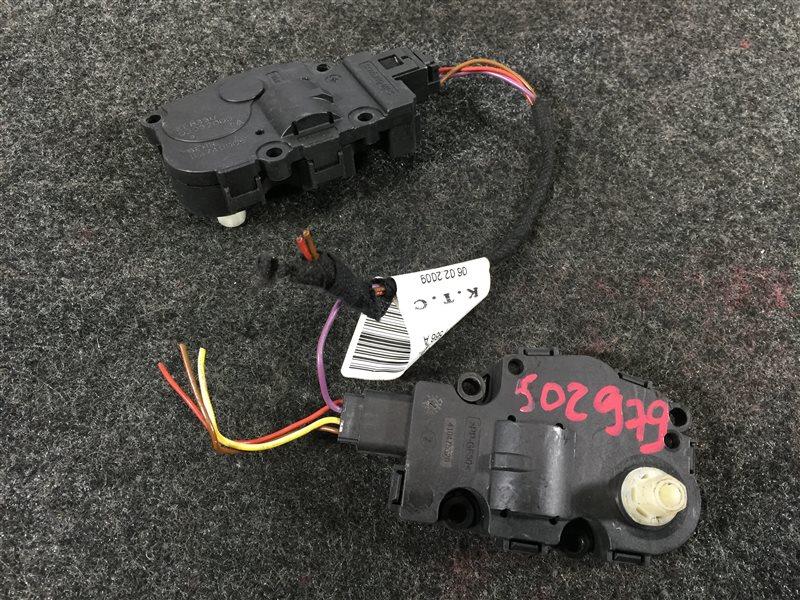 Мотор заслонки печки Audi Q5 8RB CDN 2009 502979 2 шт. (б/у)