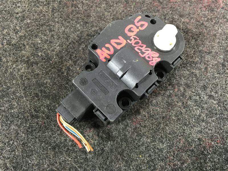 Мотор заслонки печки Audi Q5 8RB CDN 2009 502988 (б/у)