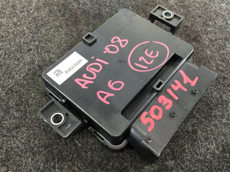 Блок электронный Audi A6 4F2 BDX 2008 503141 Блок управления парковочным тормозом. (б/у)