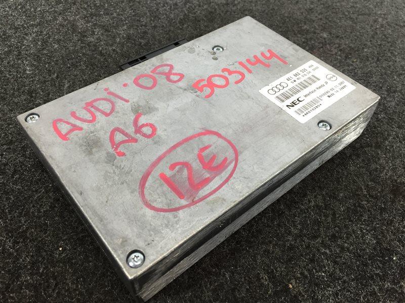 Блок управления Audi A6 4F2 BDX 2008 503144 Блок управления интерфейсом. (б/у)