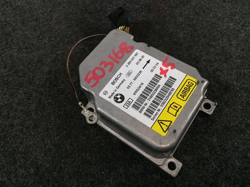Блок управления airbag Bmw X5 E53 N62 2003 503168 (б/у)