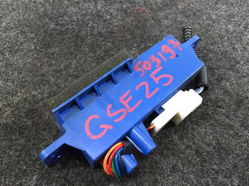 Блок электронный Lexus Is250 GSE25 4GR 2007 503197 Ионизатор воздуха. (б/у)