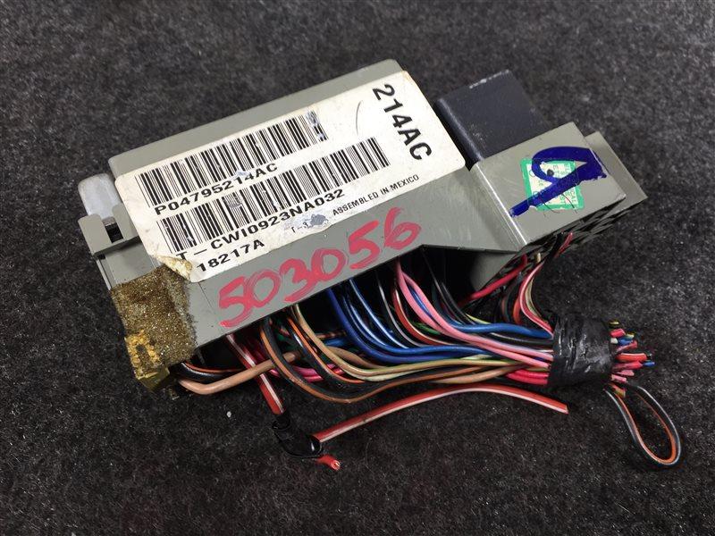 Блок предохранителей Chrysler Pt Cruiser PT T626214 2003 503056 (б/у)