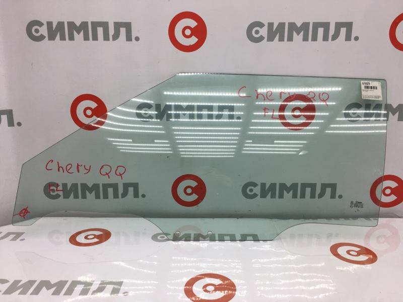 Стекло боковое Chery Qq S11 переднее левое (б/у)