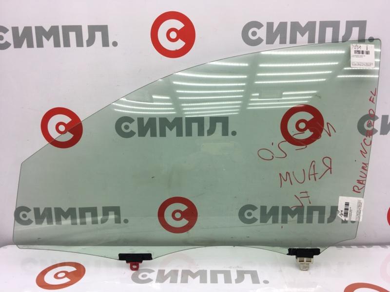 Стекло боковое Toyota Raum NCZ20 переднее левое (б/у)