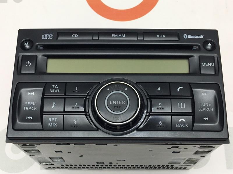 Магнитола Nissan Qashqai J10 2010 28185JD05A Bluetooth, AUX. Фишек нет. (б/у)