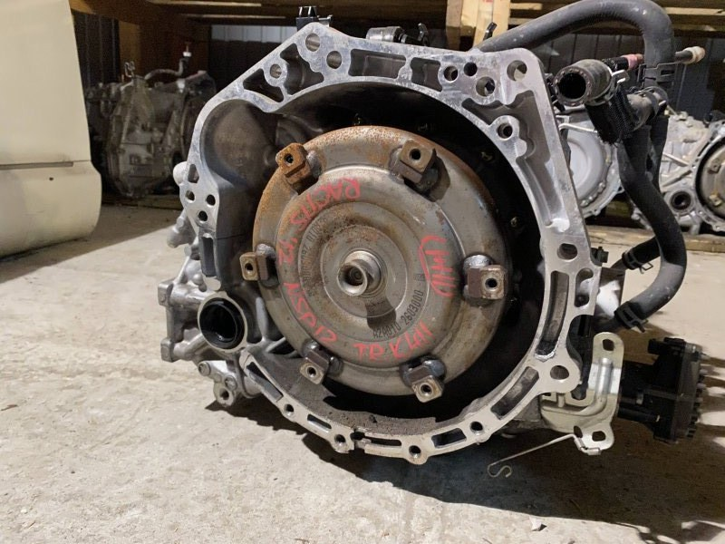 Акпп Toyota Ractis NSP120 1NR 2012 K411 (б/у)