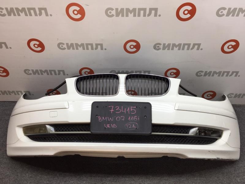 Бампер Bmw 1-Series E87 N45B16 2007 передний 73415 (+14.05.20) (б/у)