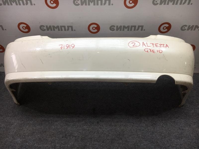Бампер Toyota Altezza SXE10 3S 2000 задний 71919 (+26.05.20) (б/у)