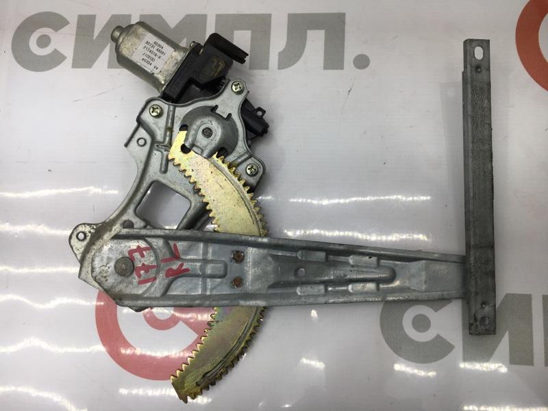 Стеклоподъемный механизм Nissan March AK12 CR12DE 2004 задний левый (б/у)