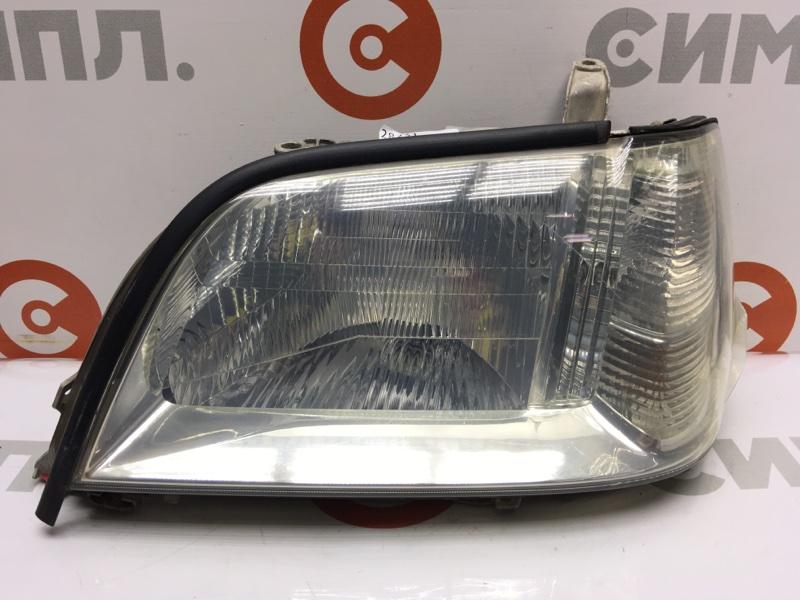 Фара Toyota Crown GS171 передняя левая 100-76941 Дефект креплений (см. фото). (б/у)