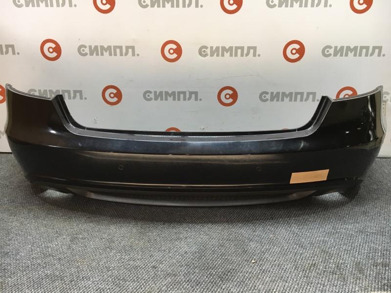 Бампер Audi A5 8TA CDN 2011 задний 105640 (+14.05.20) Черный. Сонары. 5 дверей. 2011 год. (б/у)