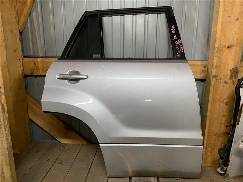 Дверь боковая Suzuki Escudo TD54W J20A 2007 задняя правая 101101 (+29.04.20) Цвет - Z2S. 13В (б/у)