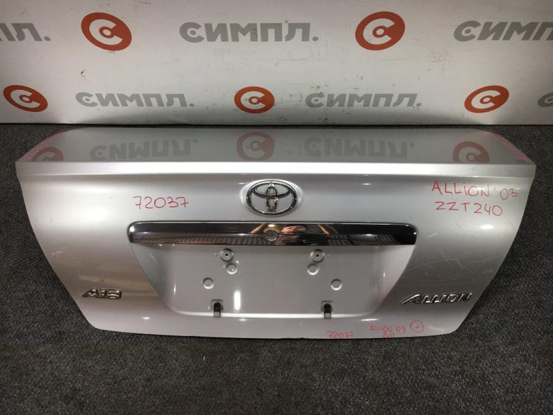 Крышка багажника Toyota Allion NZT240 1NZ 2003 72037 Снят замок. (б/у)