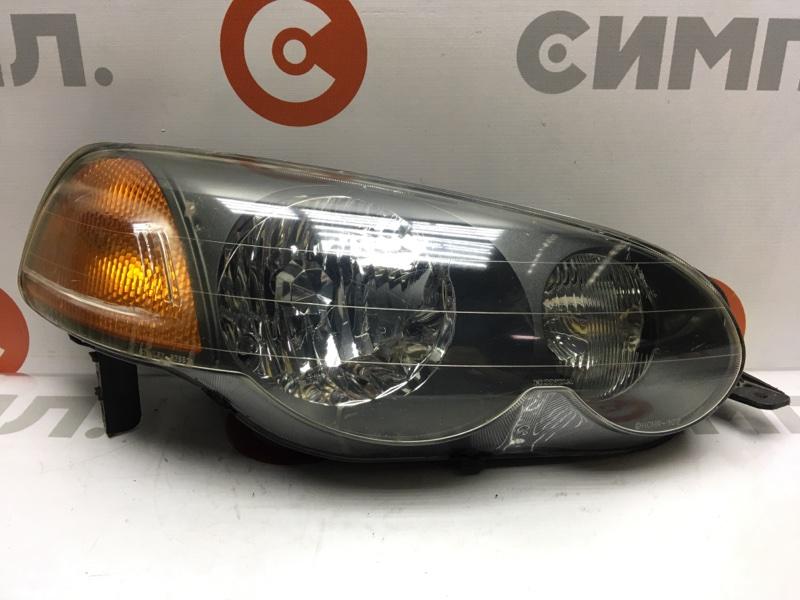 Фара Honda Hr-V GH1 передняя правая R7651 Дефект крепления (см. фото). (б/у)