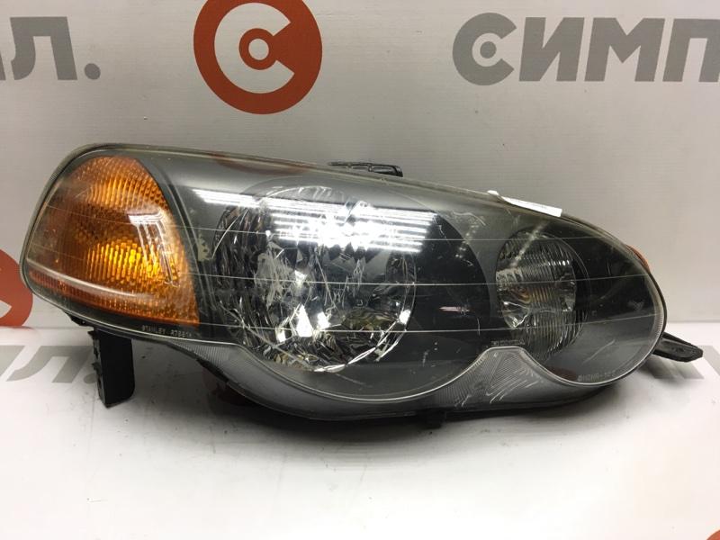 Фара Honda Hr-V GH1 передняя правая R7651 Дефект корпуса, царапины на пластике (см. фото) (б/у)