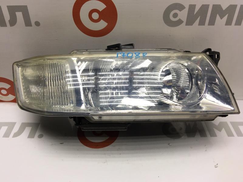 Фара Mitsubishi Chariot Grandis N84W передняя правая 100-87474 Ксенон, в сборе с блоком, без лампочки. (б/у)