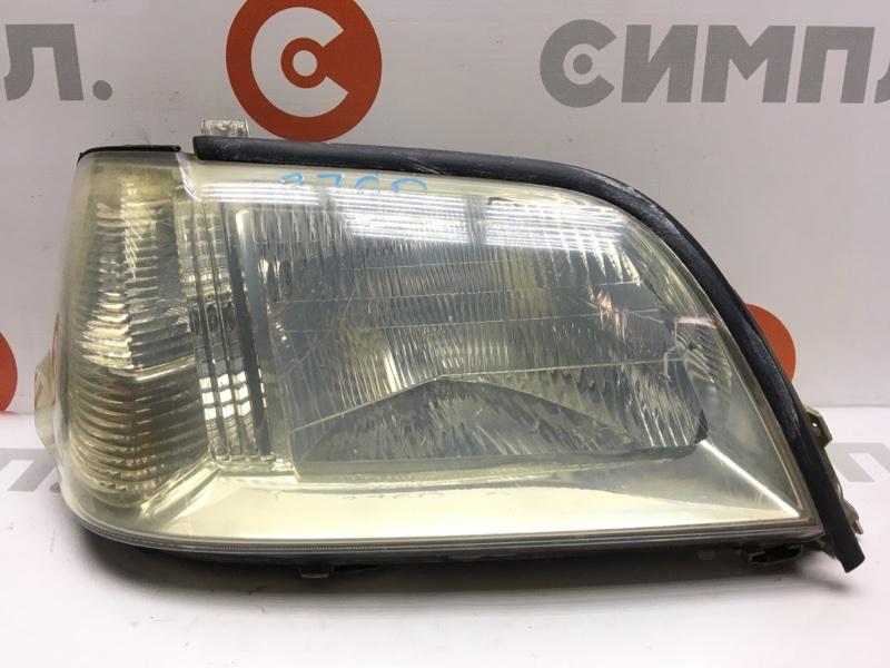 Фара Toyota Crown GS171 передняя правая 100-76941 Дефект креплений (см. фото). (б/у)