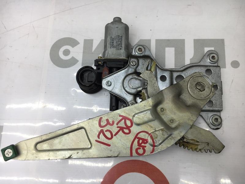 Стеклоподъемный механизм Toyota Opa ZCT15 1ZZ 2001 задний правый (б/у)