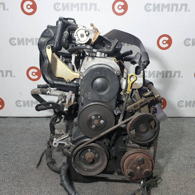 Заслонка дроссельная Mazda Demio DW3W B3 2001 Сломана фишка положения дроссельной (б/у)