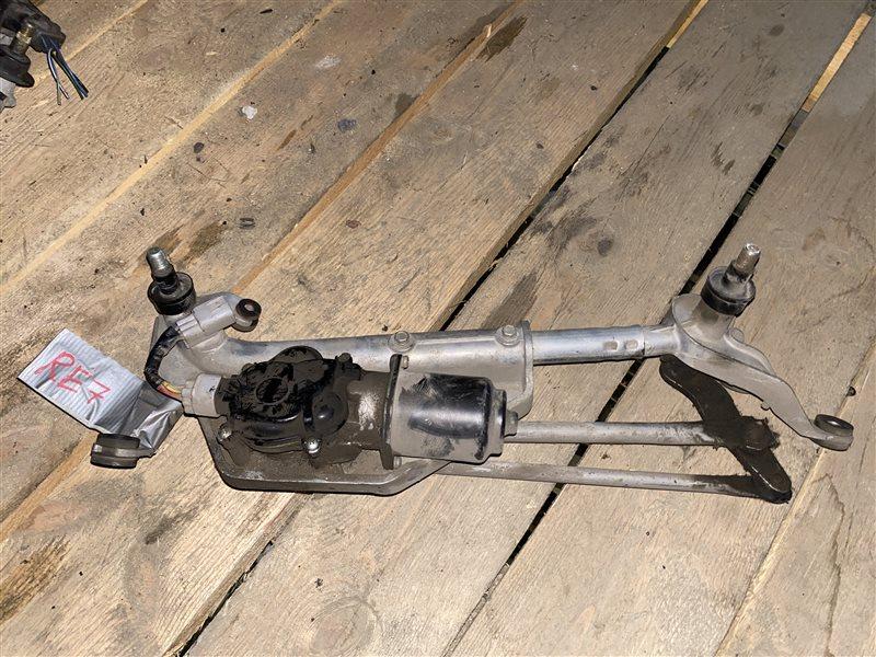 Трапеция дворников Honda Cr-V RE3 K24A 2008 Левый руль. (б/у)