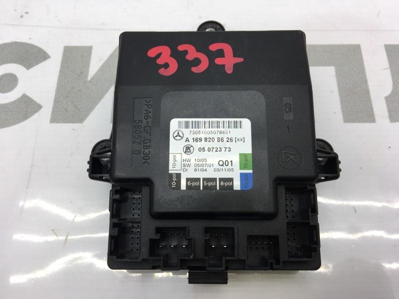 Блок электронный Mercedes-Benz B-Class T245 M266 E17 2006 A1698208626 50 ящик. Блок управления дверью (б/у)